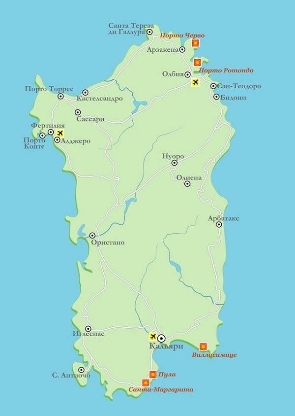 Где лучше отдыхать на сардинии: курорты, пляжи, отели