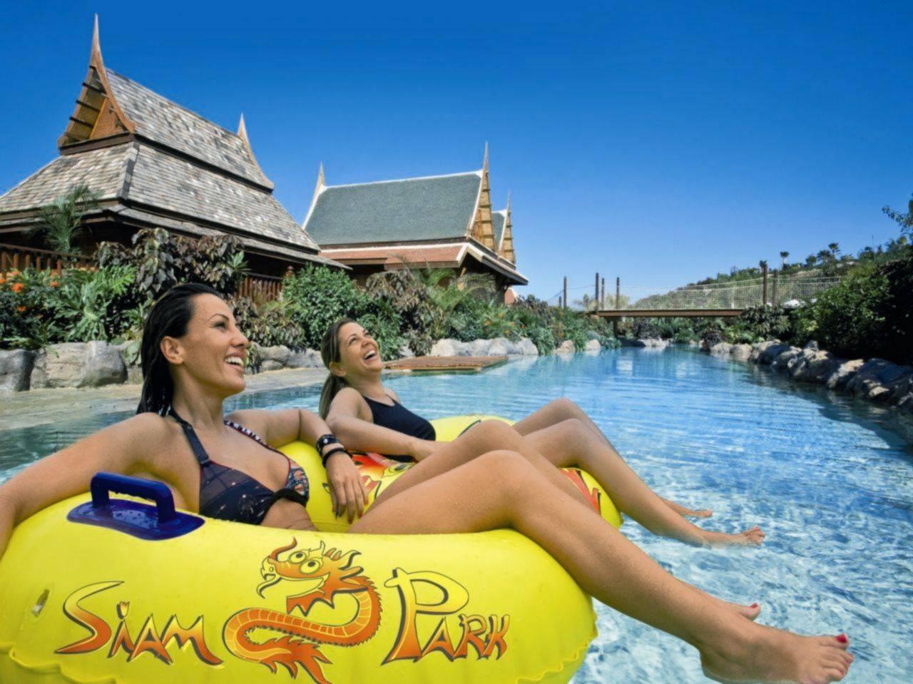 Аквапарк сиам парк (siam park) на острове тенерифе
