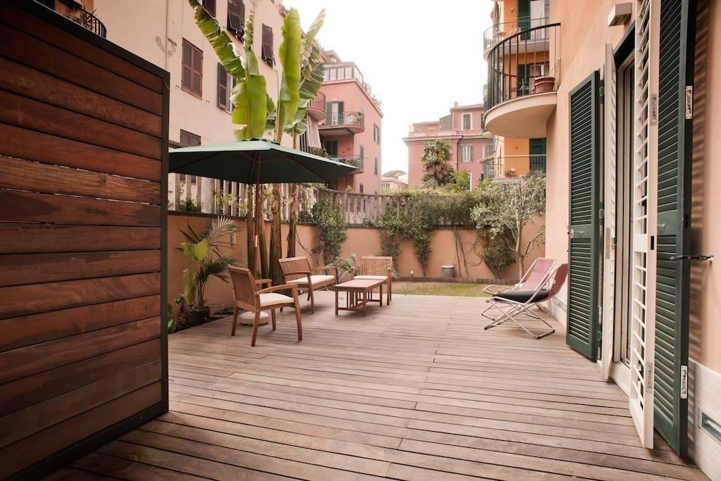Рим апартаменты
