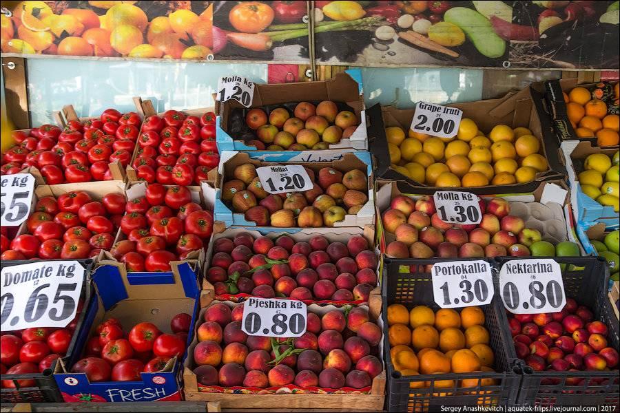 Продуктовые рынки в белграде: где находятся, цены, описание