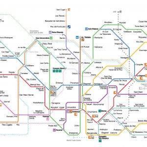 Метро барселоны: схема (карта), стоимость, как пользоваться