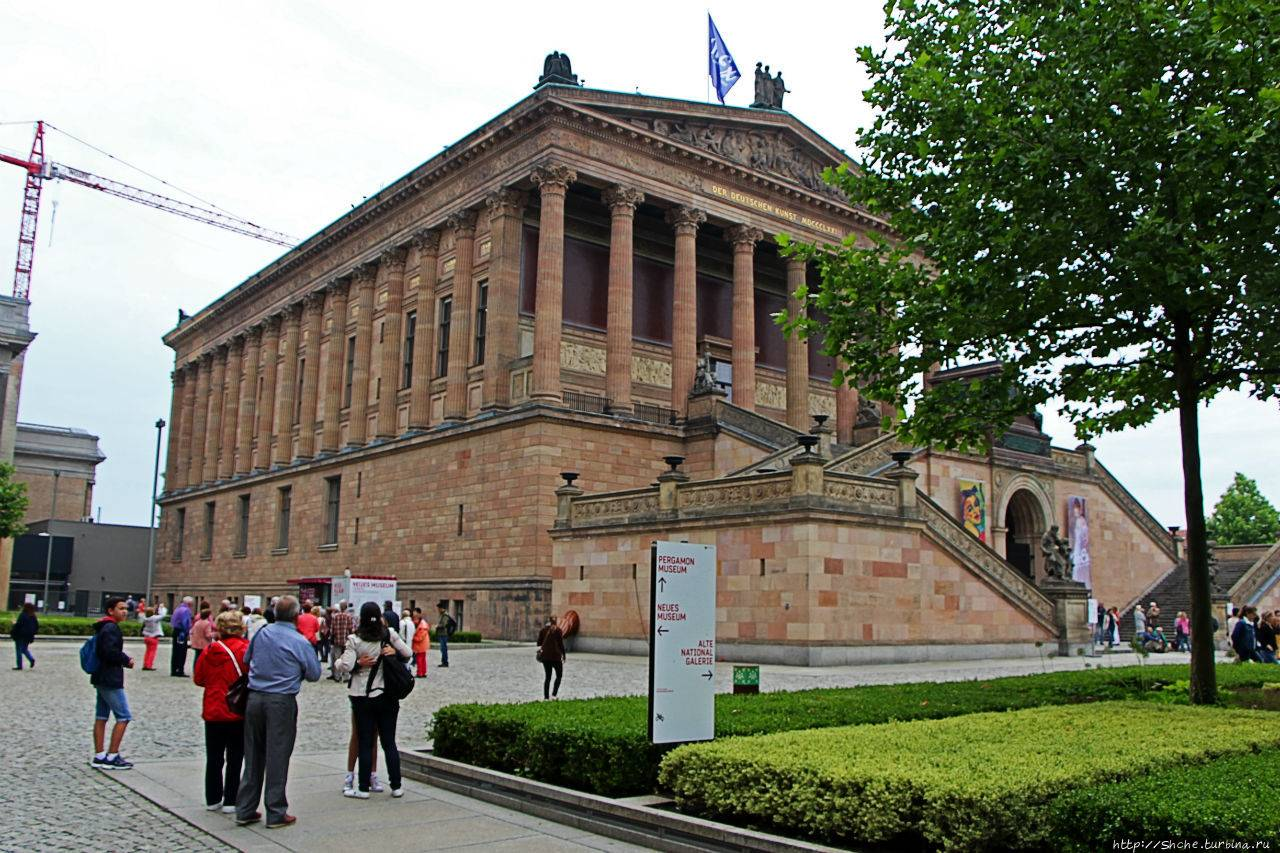 Музейный остров – созвездие самых известных музеев берлина. фото