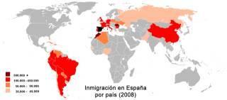 Испания — магнит для эмигрантов