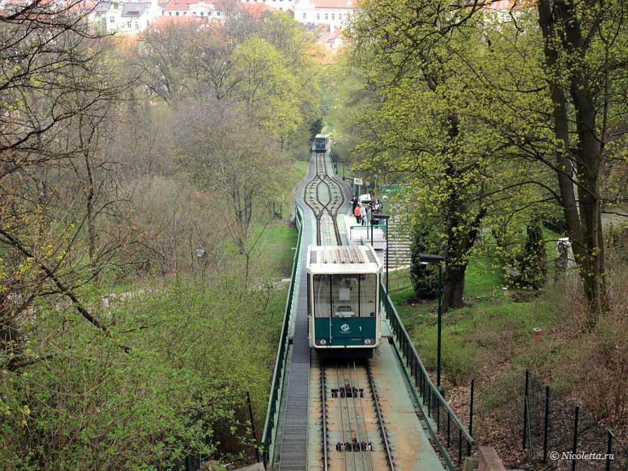 Фуникулер в праге: необычный транспорт в чехии