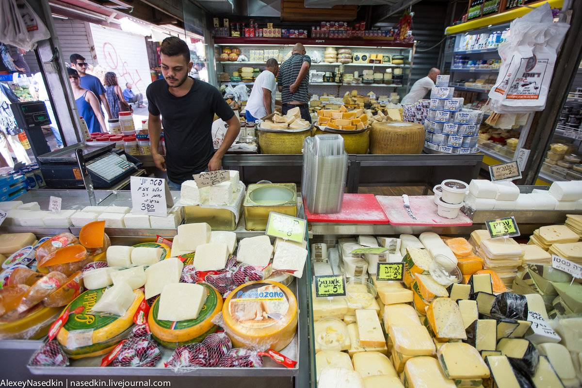 Цены в тель-авиве: услуги, продукты, товары