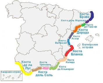 Коста-дорада. описание курорта, популярные отели, пляжи.