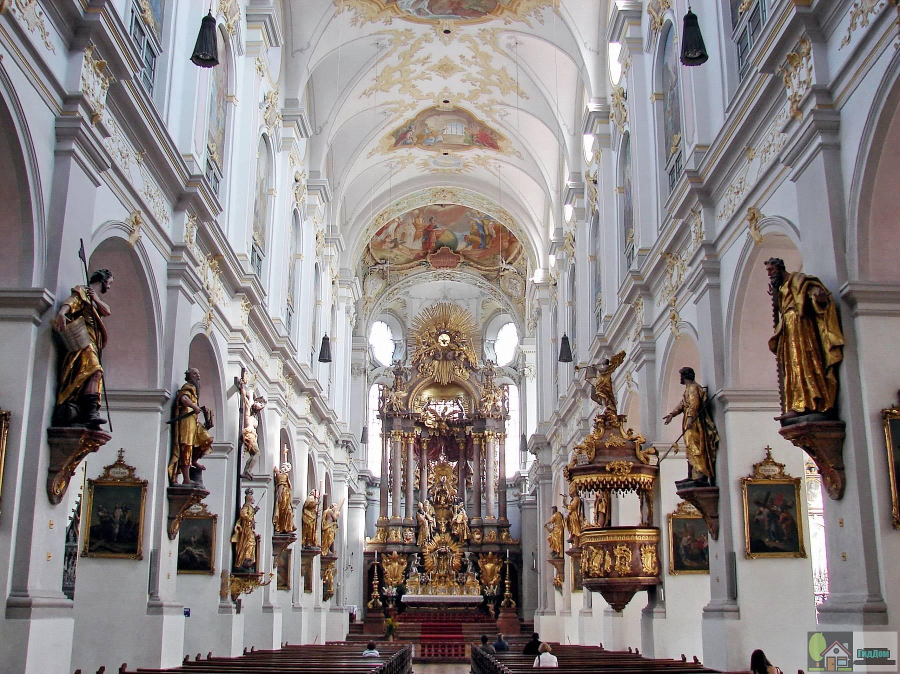 Церковь Святого Петра в Мюнхене: знакомство с архитектурой Германии