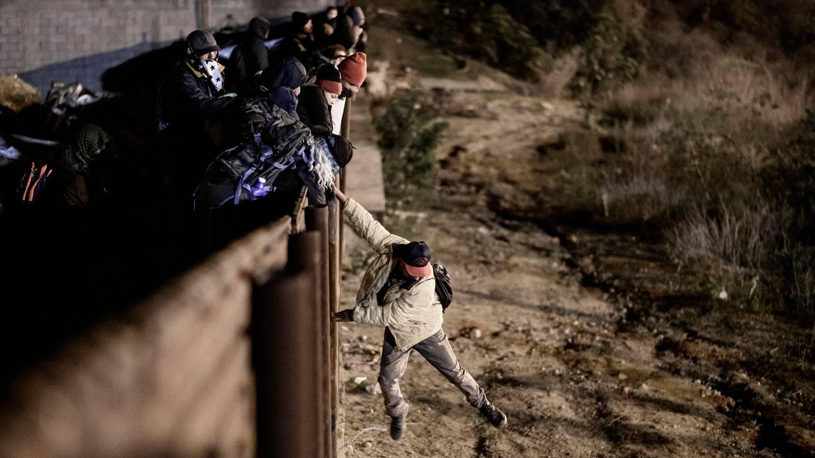 Граница с мексикой или как нелегально попасть в сша без визы