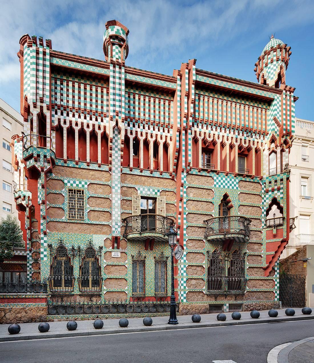 Необыкновенная архитектура гауди в барселоне