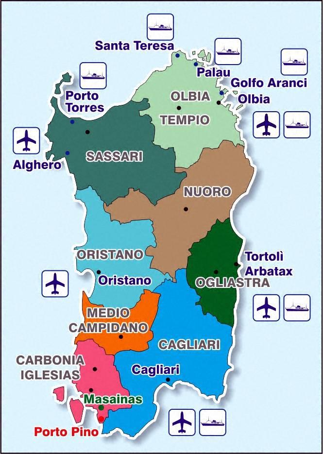 Главные аэропорты острова сицилия и их названия