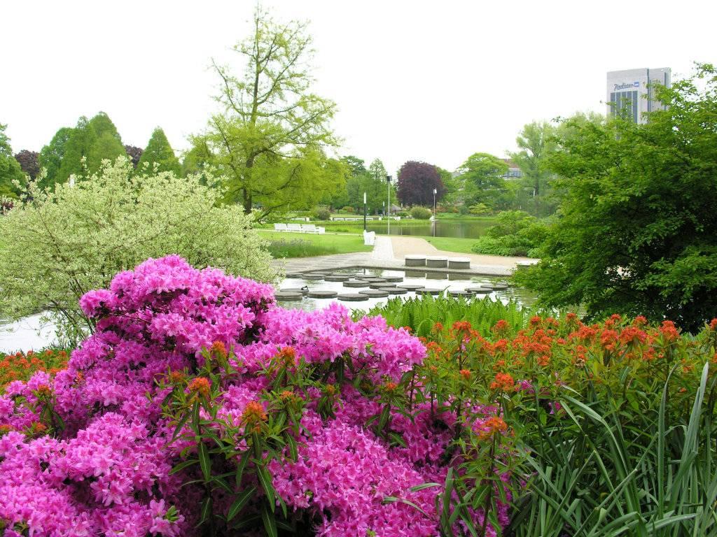 15 лучших парков берлина - список, фото, описание, карта