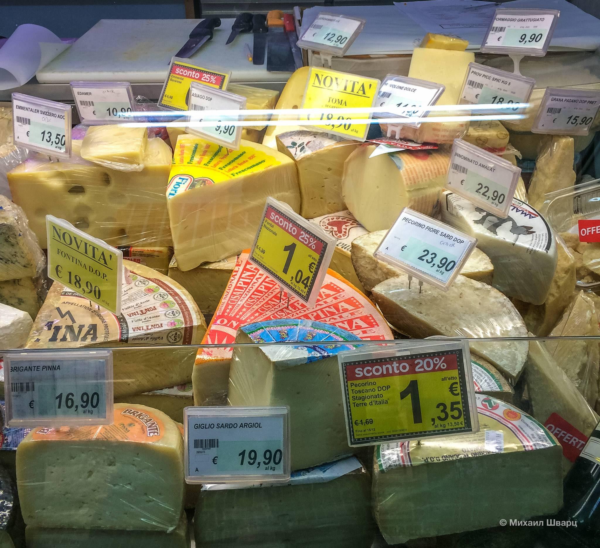 Цены в Италии в 2021 году: чего ожидать и как планировать расходы