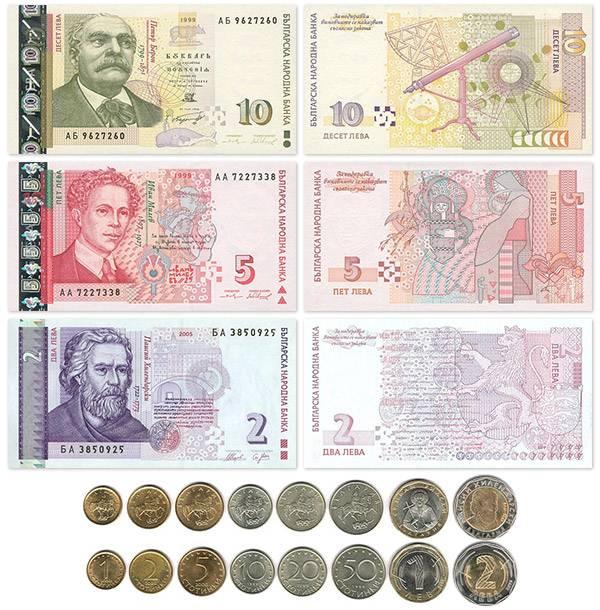 Валюта болгарии, обмен валют. курс лева к рублю и грн — болгария