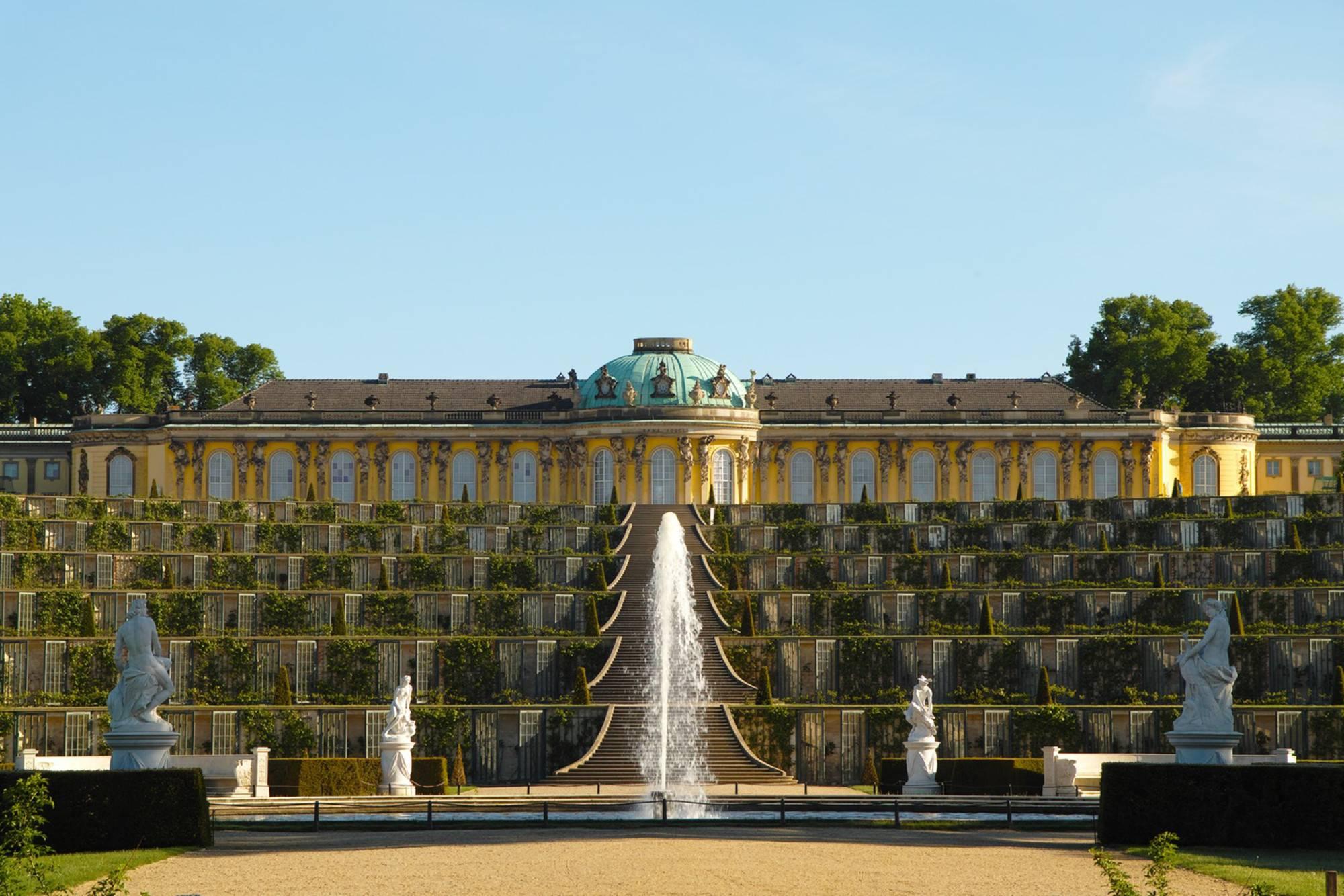 Новый дворец в потсдаме: архитектура, интерьер, парк, как добраться, фото