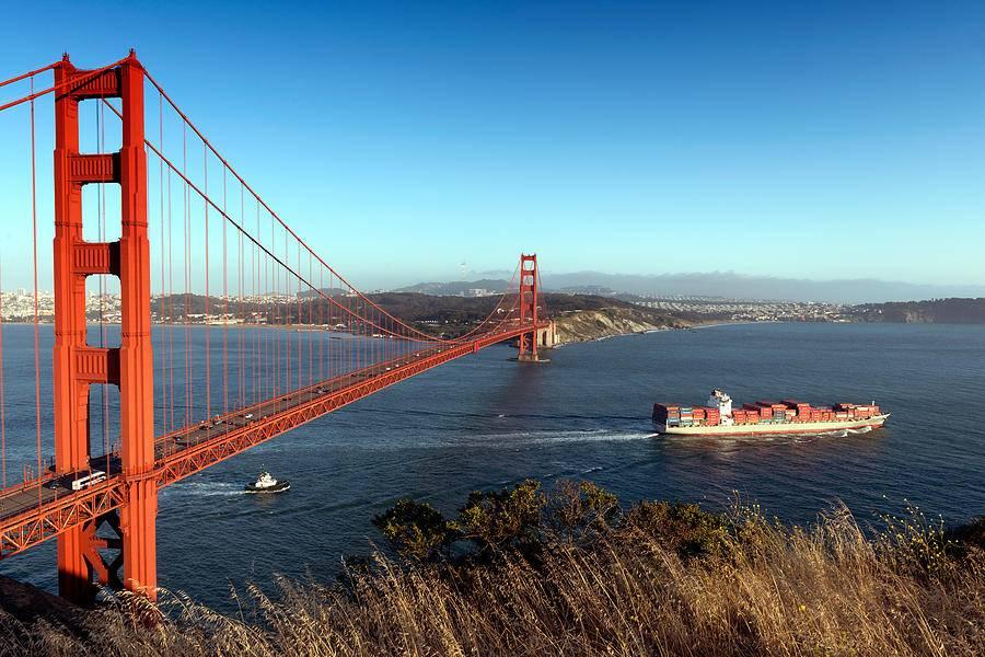 Золотые ворота — история красного моста в Сан-Франциско