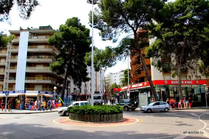 Салоу на карте испании (коста дорада): курортный город у моря, место для отдыха