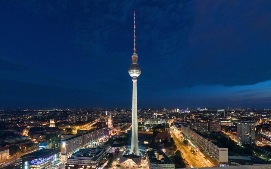 Берлинская телебашня: самое высокое сооружение германии