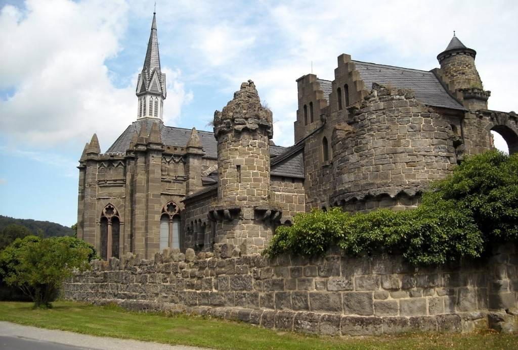 Замок лёвенбург: история, описание, фото