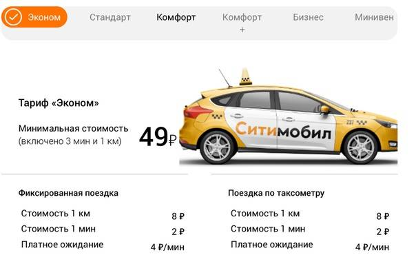 Такси в чехии - цены и правила