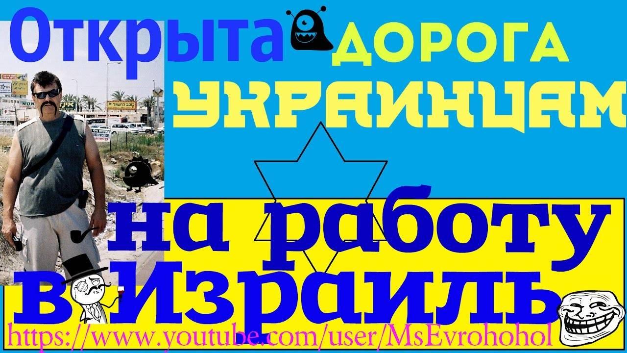 Поиск работы в израиле в  2021  году: вакансии для украинцев
