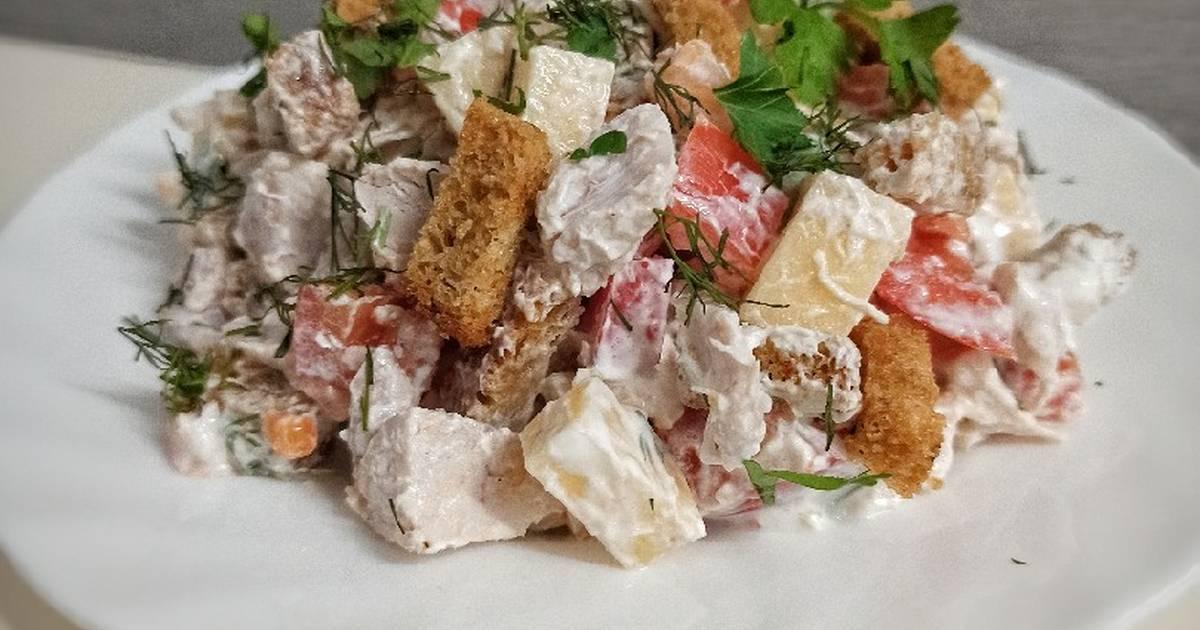 Рецепт баварский салат. калорийность, химический состав и пищевая ценность.