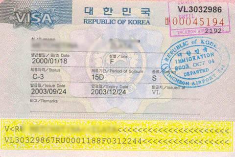 Виза в южную корею: документы и порядок получения
