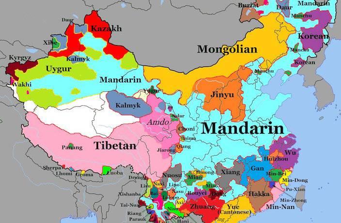 Китайский мандаринский язык: история и носители