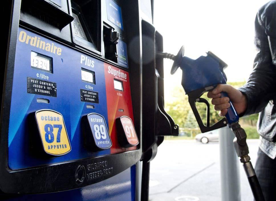 Сколько стоит бензин в европе в рублях в 2020 году?