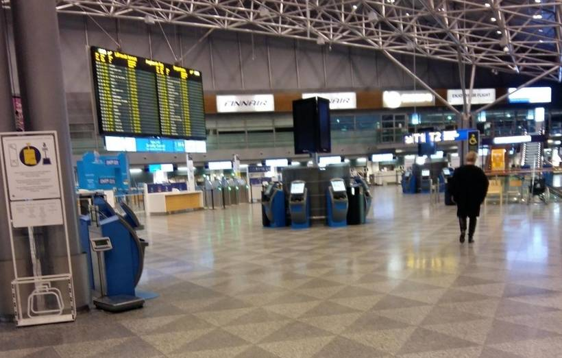 Центральный аэропорт финляндии — гостеприимный вантаа