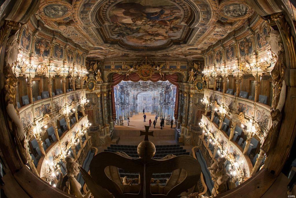 Маркграфский театр: прекрасен внутри и снаружи