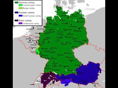 Австрийский немеций язык: österreichisches deutsch. диалекты немецкого языка