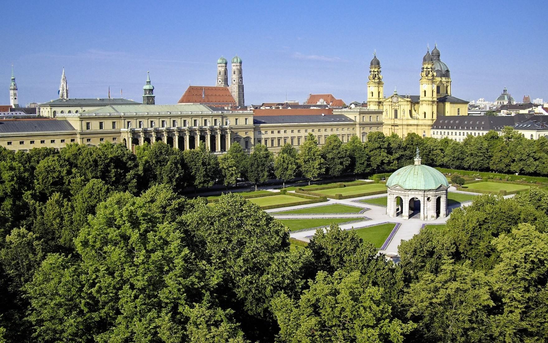 Мюнхенская резиденция (нем. münchner residenz). фото