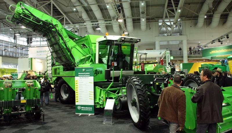 Немецкая выставка сельскохозяйственной техники agritechnica