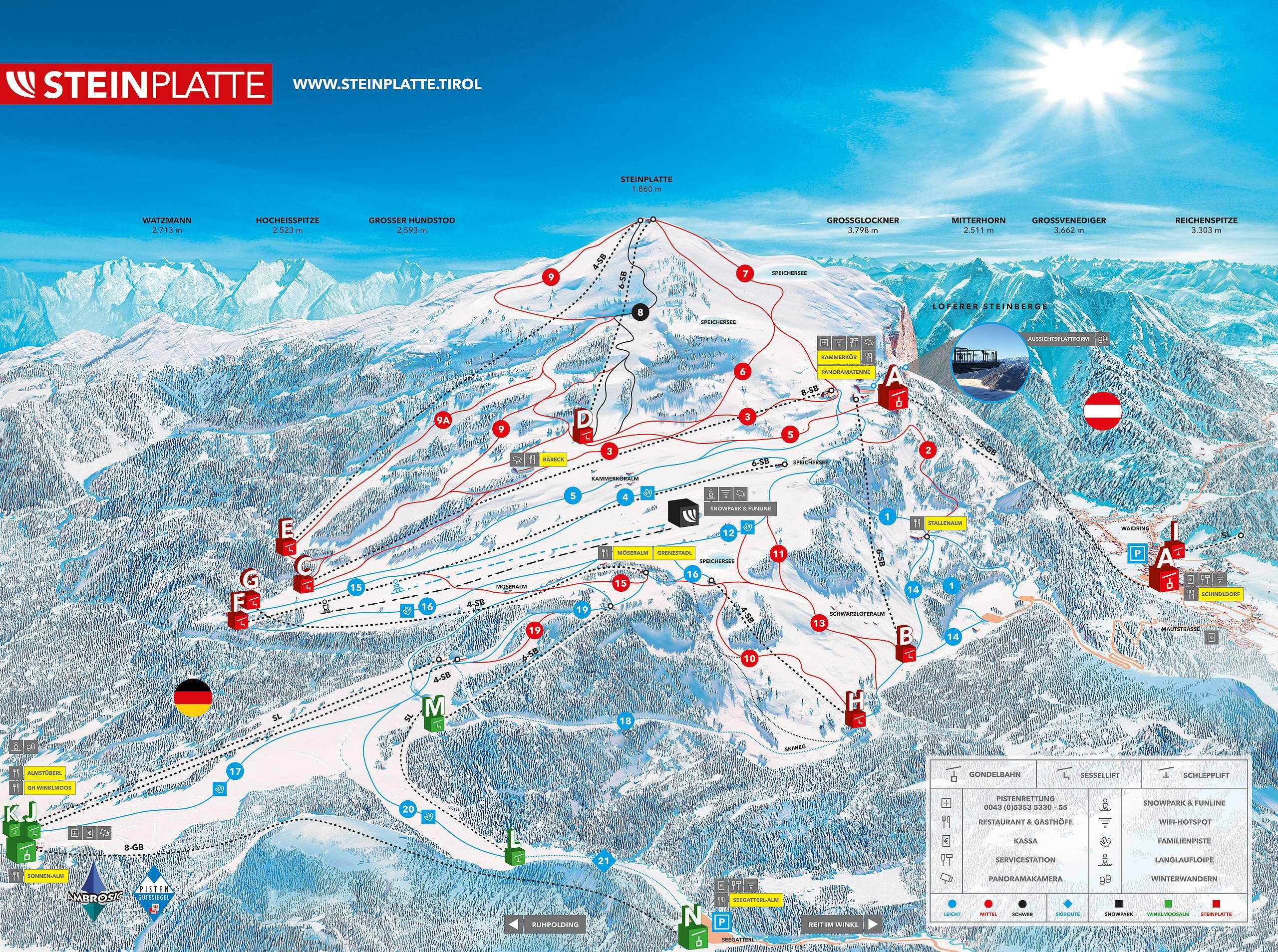 Ишгль / ischgl - горнолыжные курорты и склоны австрии