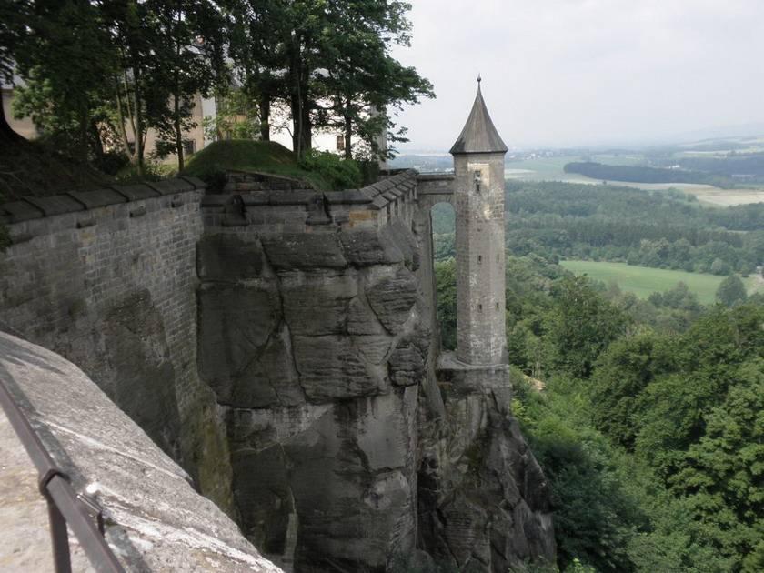 История - крепости кёнигштайн