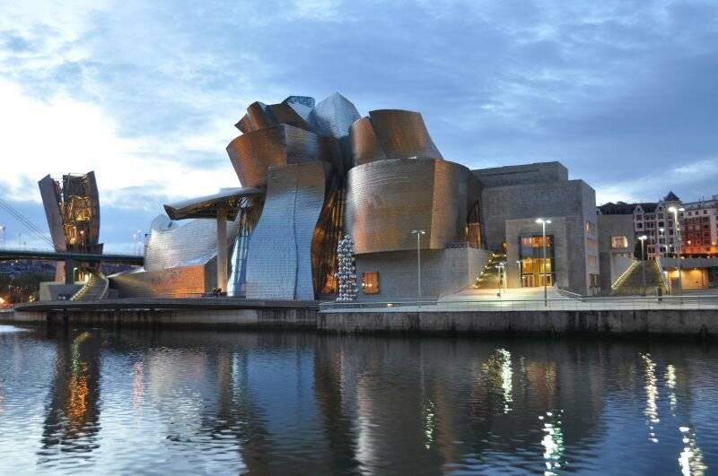 Музей современного искусства гуггенхейма в бильбао (испания) — фото, экспонаты, картины — плейсмент