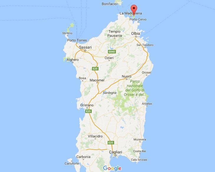 Сардиния на карте италии: что посмотреть, карта