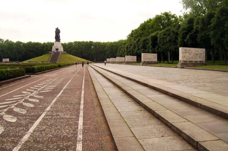 Трептов парк в берлине от создания до наших дней
