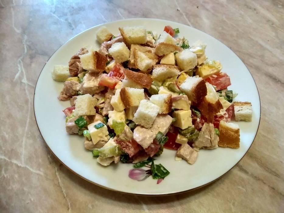 Баварский салат - праздник вкуса на вашем столе!
