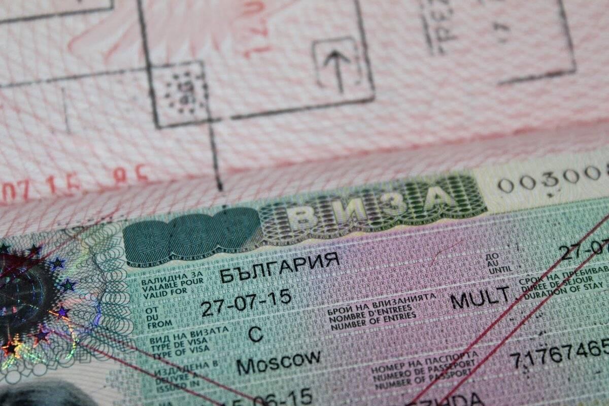 Деловая виза в болгарию