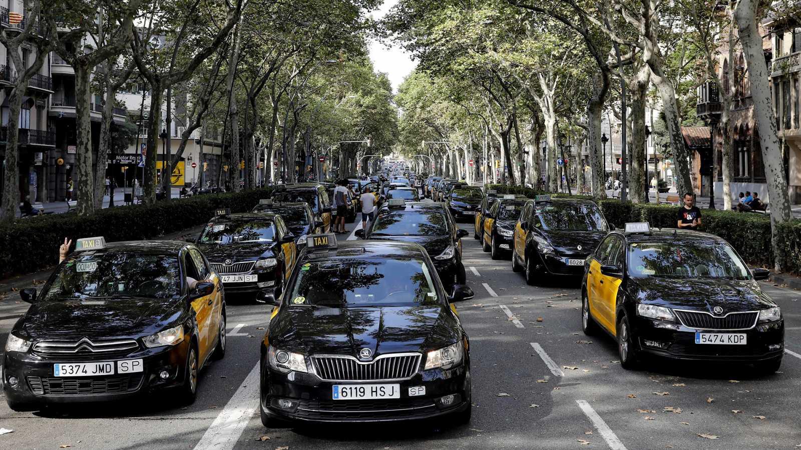 Такси как популярный вид транспорта в испании