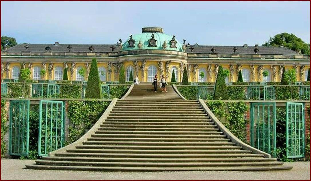 Потсдам (германия) — достопримечательности города с названиями и фото