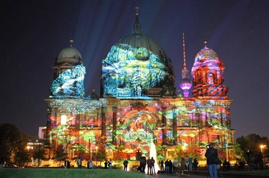 Фестиваль света, берлин — 2021, сайт, инсталляции, фото, видео, отзывы | туристер.ру