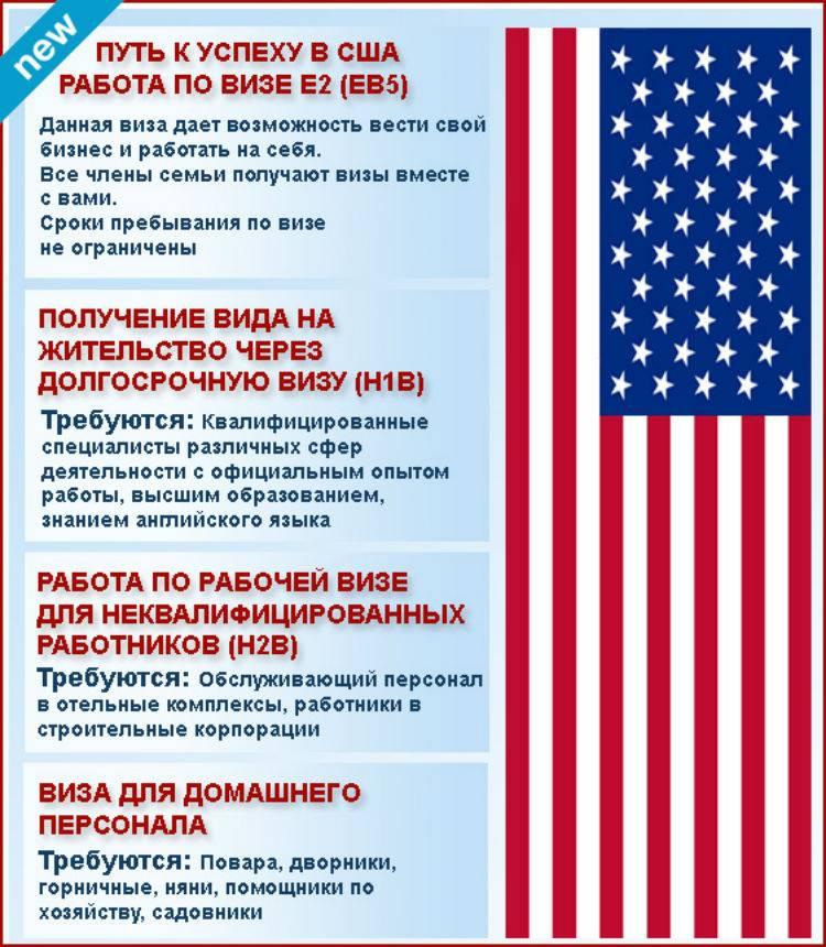 Правила и особенности иммиграции в сша для россиян