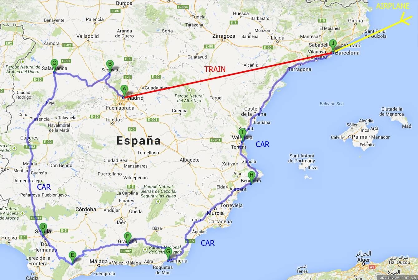 Город малага в испании — столица побережья коста дель соль