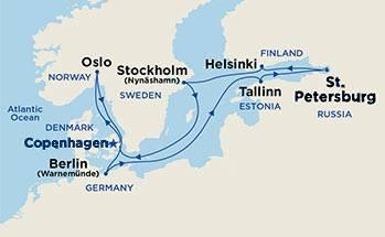 Санкт-петербург -хельсинки - стокгольм - осло - копенгаген