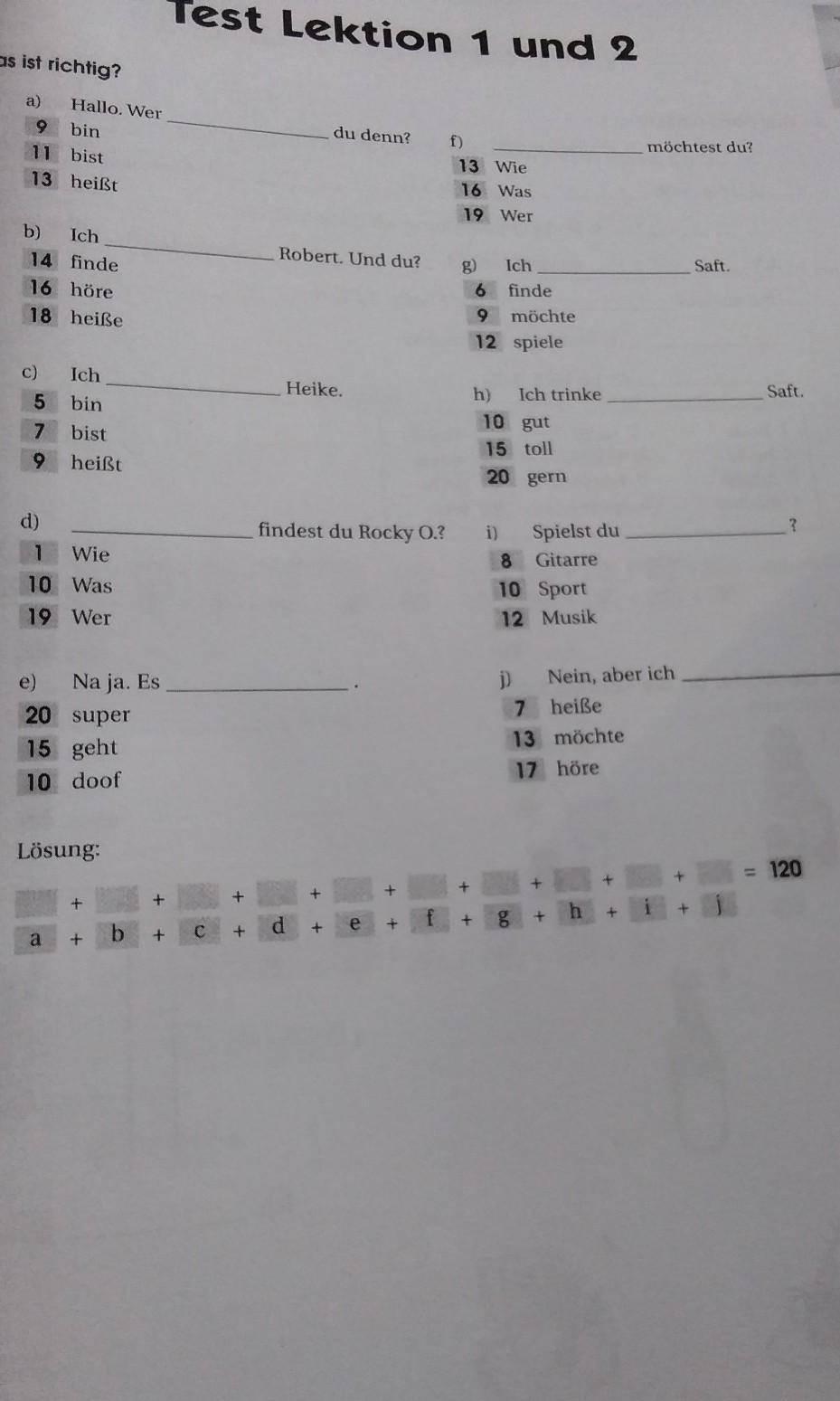 Тест на знание правил немецкой грамматики на уровне а1 (40 вопросов) | онлайн курсы немецкого языка екатерины казанковой