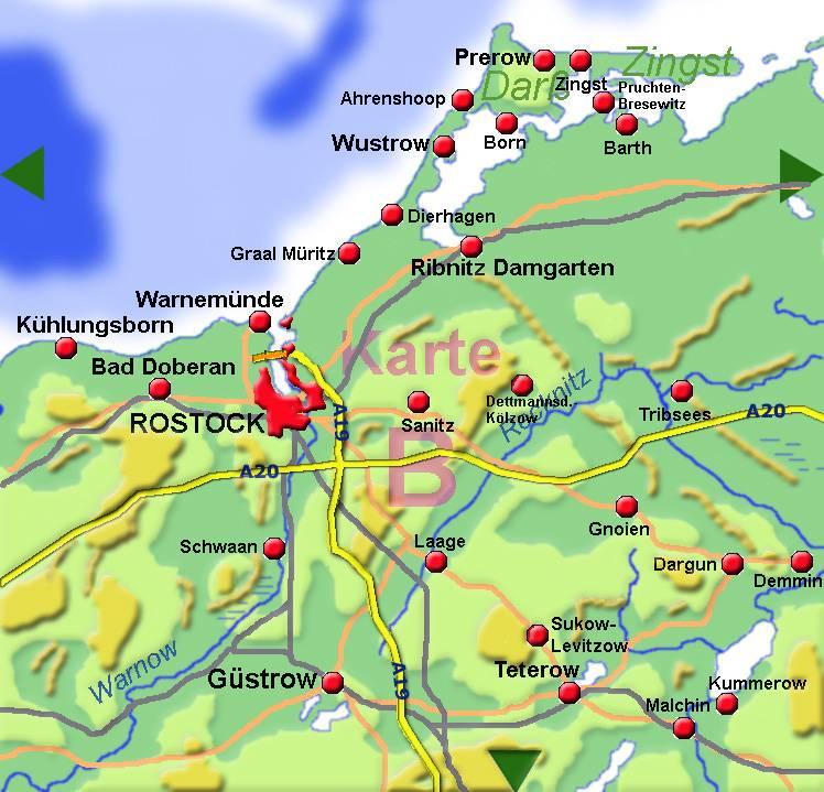 Расстояние озеро-мюриц-германия - москва