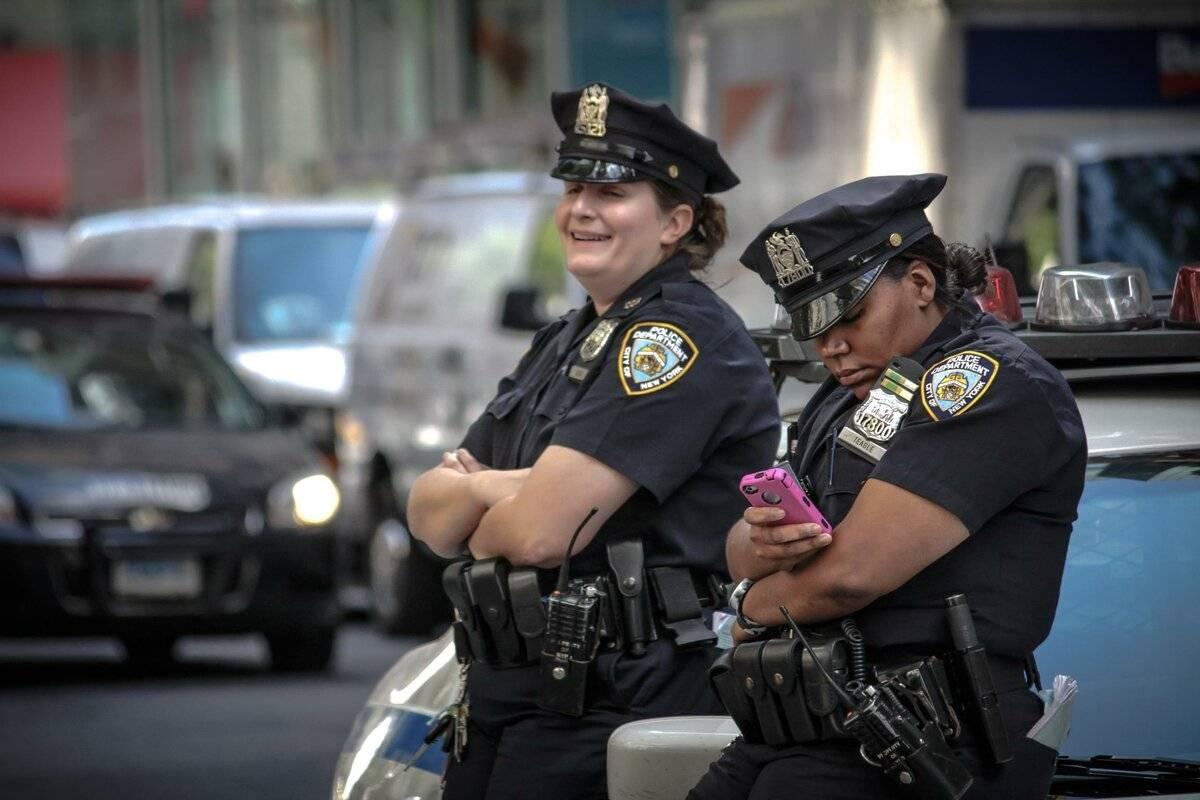 Звания в полиции сша