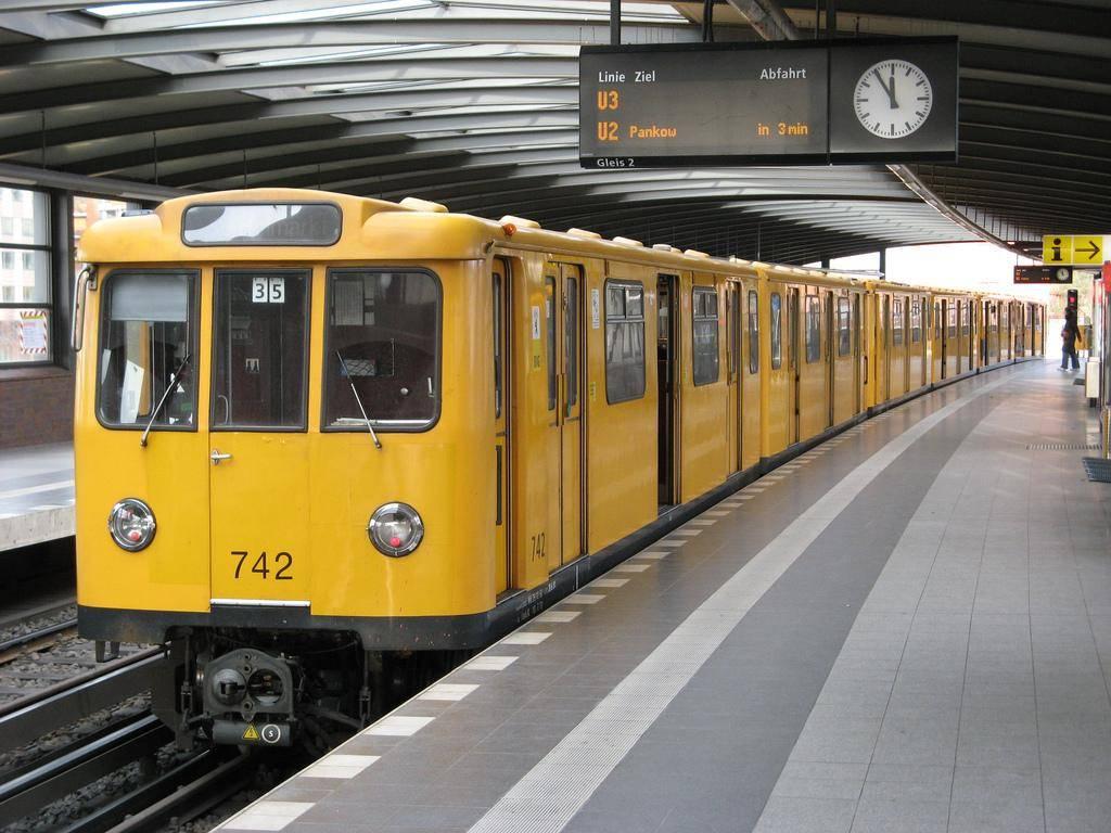 Как называется метро в германии